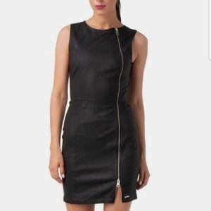 Diesel lamb leather dress